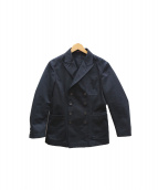 THE GIGI(ザ ジジ)の古着「ダブルジャケット」 ブラック