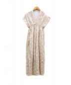 MARIHA(マリハ)の古着「ワンピース」|ベージュ