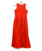 MARIHA(マリハ)の古着「夏のレディのドレス」 レッド