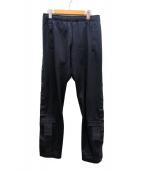 adidas(アディダス)の古着「サイドライントラックパンツ」|ブラック