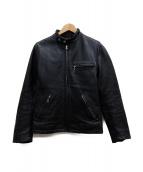 COOL SCAT(クールスキャット)の古着「ライダースジャケット」|ブラック