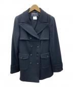 CHANEL()の古着「ショートコート」 ブラック