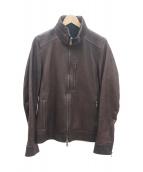 junhashimoto(ジュンハシモト)の古着「レザージャケット」|ブラウン