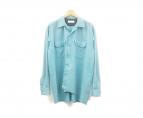 NEON SIGN(ネオンサイン)の古着「スヌーピーシャツ」|ターコイズ