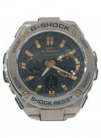 CASIO()の古着「G-SHOCK GST-W110D」|グレー