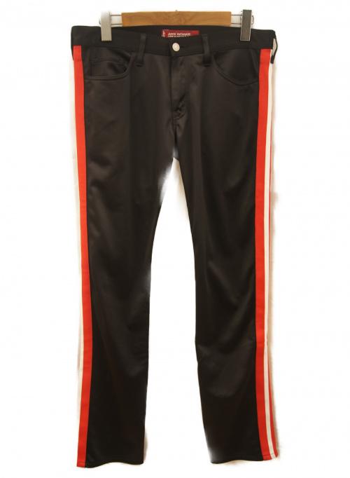 LEVIS×COMME des GARCONS(リーバイス×コムデギャルソン)LEVIS×COMME des GARCONS (リーバイス×コムデギャルソン) ラインパンツ ブラック サイズ:M 春秋物の古着・服飾アイテム