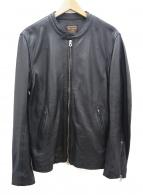 MR.OLIVE(ミスターオリーブ)の古着「ライダースジャケット」 ブラック