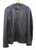 MR.OLIVE(ミスターオリーブ)の古着「ライダースジャケット」|ブラック