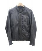 AMERICAN RAG CIE(アメリカンラグシー)の古着「シングルレザージャケット」|ブラック