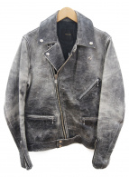 NOISE MAKER(ノイズメーカー)の古着「ライダースジャケット」|ブラック