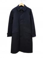 RALPH LAUREN(ラルフローレン)の古着「比翼コート」|ネイビー