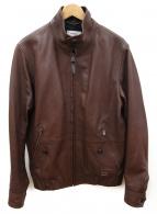 COACH(コーチ)の古着「レイズドネックブルゾン」 ブラウン