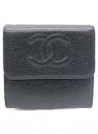()の古着「3つ折り財布」|ブラック