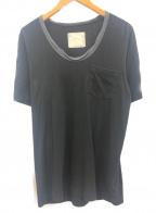 sacai(サカイ)の古着「ポケットTシャツ」|ブラック