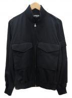 HYKE(ハイク)の古着「フライトジャケット」|ブラック