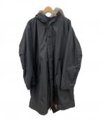 BURBERRY BLACK LABEL(バーバリーブラックレーベル)の古着「ライナー付モッズコート」|ブラック