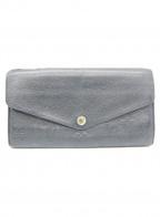 LOUIS VUITTON()の古着「長財布」|ブラック
