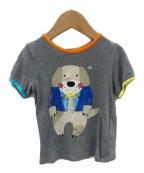 GUCCI(グッチ)の古着「プリントTシャツ」|グレー