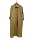 ReNorm(リノーム)の古着「ボリュームスリーブバルマカーンコート」|ブラウン