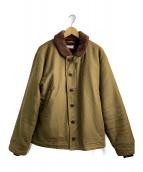 TENDERLOIN(テンダーロイン)の古着「T1デッキジャケット」|カーキ
