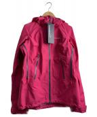 NORRONA(ノローナ)の古着「ハードシェルジャケット」|ショッキングピンク
