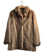SAGA MINK(サガミンク)の古着「ミンクジャケット」 ブラウン