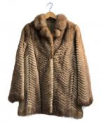 SAGA MINK(サガミンク)の古着「ミンクジャケット」|ブラウン