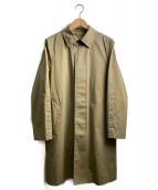 HYKE(ハイク)の古着「ライナー付ステンカラーコート」|ブラウン