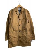 BURBERRY BLACK LABEL(バーバリーブラックレーベル)の古着「ステンカラーコート」|ブラウン