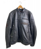HARLEY DAVIDSON(ハーレーダビッドソン)の古着「レザージャケット」|ブラック