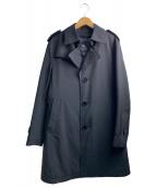 BURBERRY BLACK LABEL(バーバリーブラックレーベル)の古着「ライナー付トレンチコート」|ブラック