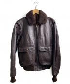 SAN DIEGO(サンディエゴ)の古着「ボマージャケット」|ブラウン