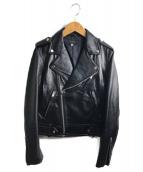 TODAYFUL(トゥデイフル)の古着「レザーライダースジャケット」|ブラック