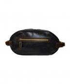 土屋鞄(ツチヤカバン)の古着「バッファローボディーバッグ」 ブラック