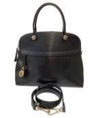 FURLA()の古着「2WAYバッグ」|ブラック