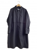 UNITED TOKYO(ユナイテッドトウキョウ)の古着「ウォーカブルヨークコート」|ブラック