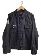 ROTAR(ローター)の古着「シャツジャケット」 ブラック