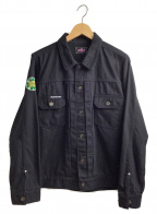 ROTAR(ローター)の古着「シャツジャケット」|ブラック