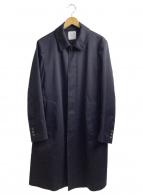 UNITED TOKYO(ユナイテッドトウキョウ)の古着「スリーレイヤーキャバステンカラーコート」 ネイビー