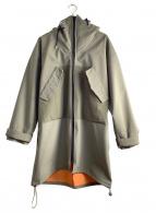 STOF(ストフ)の古着「フーデッドジップコート」|オリーブ