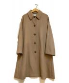 ()の古着「ビーバーテントコート」|ベージュ