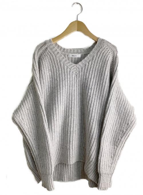 EBURE(エブール)EBURE (エブール) ニット ホワイト サイズ:不明 秋冬物 カシミヤ混の古着・服飾アイテム