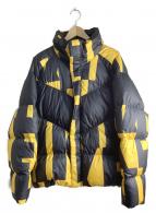 NIKE(ナイキ)の古着「シーズナルフィルダウンジャケット」|イエロー×ブラック