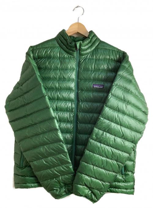 Patagonia(パタゴニア)Patagonia (パタゴニア) ダウンセーター グリーン サイズ:Mの古着・服飾アイテム