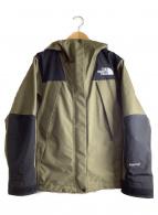 ()の古着「マウンテンジャケット」|カーキ×ブラック
