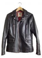666Leather Wear(シックスシックスシックスレザー)の古着「レザージャケット」|ブラック