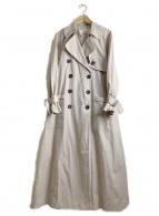 MIRKO(ミルコ)の古着「トレンチコート」|ベージュ