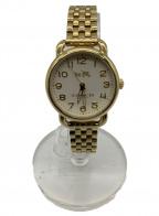 COACH(コーチ)の古着「腕時計」|ゴールド