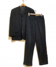 COMME des GARCONS(コムデギャルソン)の古着「ジャケットセットアップ」|ブラック