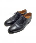 SCOTCH GRAIN(スコッチグレイン)の古着「ストレートチップシューズ」 ブラック